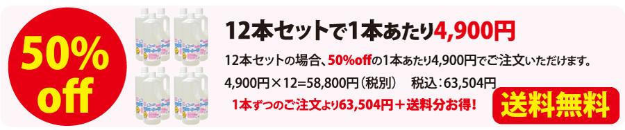 テラクリーナーヤマトの価格が半額の12本セット